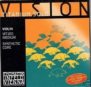Thomastik Vision Titanium Solo Violin String Set NEW