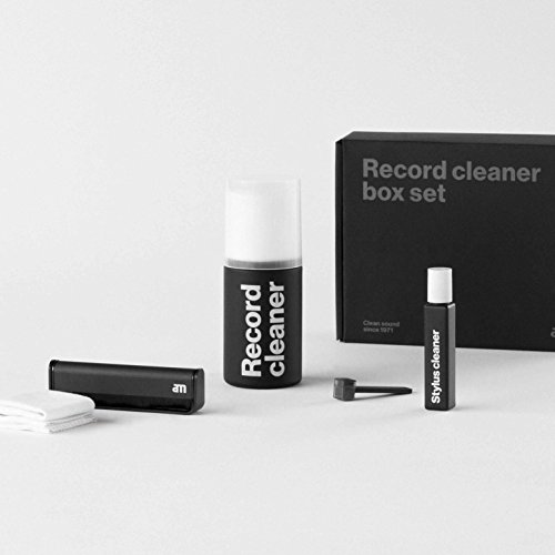Platenonderhoud set - AM Clean Sound Record Cleaner Box Set