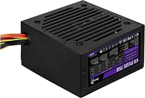 Aerocool Vx-Plus-750W Fuente de alimentación para Pc, 750W, Negro