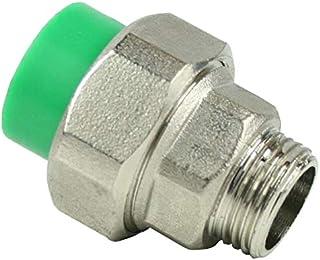 PPR Aqua-Plus koppelingsschroefverbinding, 20 mm x buitendraad 1/2 inch