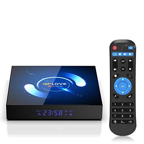 OKEU Android 10.0 TV Box 【4GB RAM+64GB ROM】QPLOVE Q6 TV Box...