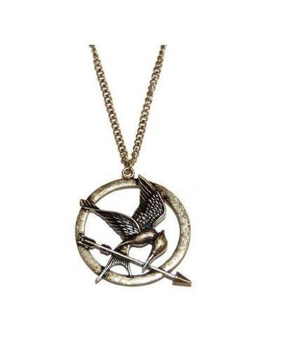 MANGO-Neca The Hunger Games - Collar de pájaro sinsajo de los Juegos...