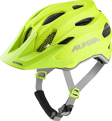 ALPINA CARAPAX JR. FLASH Fahrradhelm, Kinder, be visible, 51-56