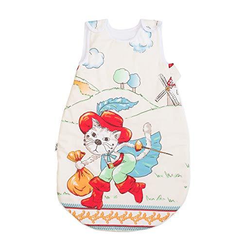 Tommy Le Chat botté Pati'Chou Gigoteuse bébé 12-24 mois, Turbulette douce et chaude d'hiver, 90 cm