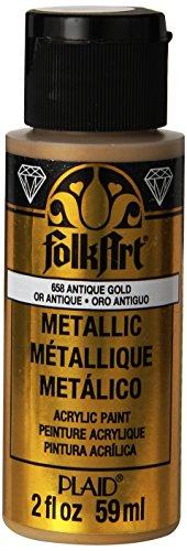FolkArt Metallic Acrylic Paint in Assorted Colors (2 oz)