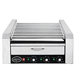 commercial Clevr Commercial 11 and 30 roll hot dog machines, drawers for heating rolls, hot dog grills … hot dog cookers