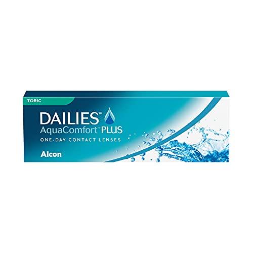 DAILIES AquaComfort Plus Toric 1-Tages-Kontaktlinsen, 30 Stück, BC 8.8 mm, DIA 14.4 mm, CYL -0.75, ACHSE 180, -2.75 Dioptrien