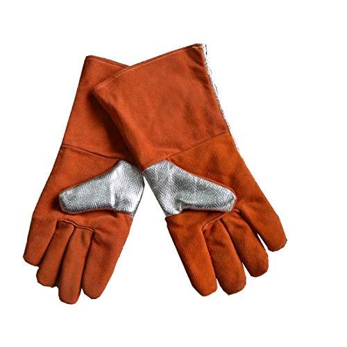 SUIWO Klusjesman Flex Grip werkhandschoenen Excellent Grip beschermende handschoenen, handschoenen, folie Isolatie Handschoenen Smelting for resistentie tegen 500-500 Degrees