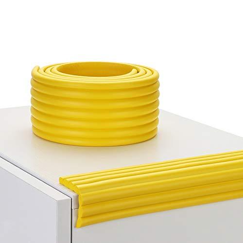 KOMOSO Kantenschutz, 500 cm, Möbelkantenschutz für Tischecken, Schutzschaum