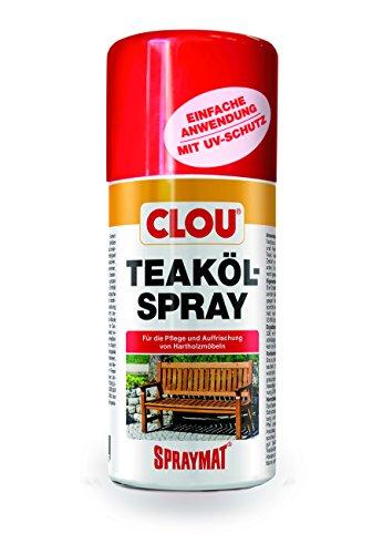 Clou 4007141208711–Teaköl-Spray 300ml