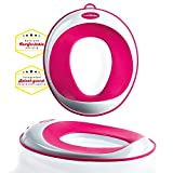 Unisex Non-Slip Child Toilet Reducer Seat | FREE: suction cup storage wall attachment