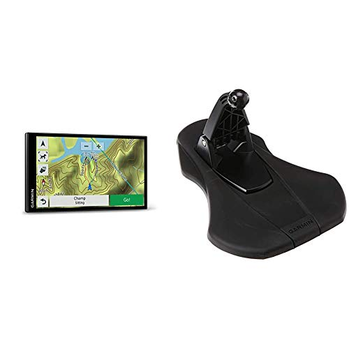 Garmin Drivetrack 71- in-Vehicle Dog Tracking and GPS Navigator, 010-01982-00 & Friction Mount