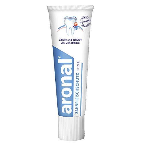 Aronal Zahnfleischschutz mit Zink Zahnpasta, 75 ml