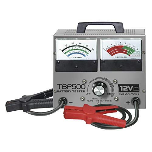 GYS GYS-055148-TBP 500 TBP 500-TESTEUR DE Batterie TRADITIONNEL-12V, Bleu