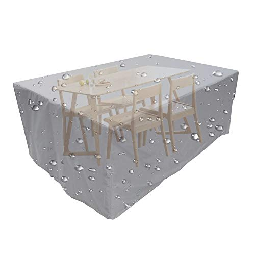 NTWXY Patio Table and Chairs Furniture Set Cover, Waterproof, Tear-Resistant, UV Resistant Outdoor Table and Chair, Sofa Sectional Cover Outdoor Table and Chair Cover90x90x90cm