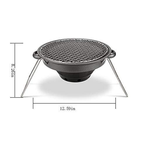 417cdp10jgL. SL500  - Außen Flat Top Gasgrill Set Tragbare und Non-Stick Barbecue-Ofen Backblech for den Außeneinsatz New Grill Zubehör Rückfett (Color : Black)