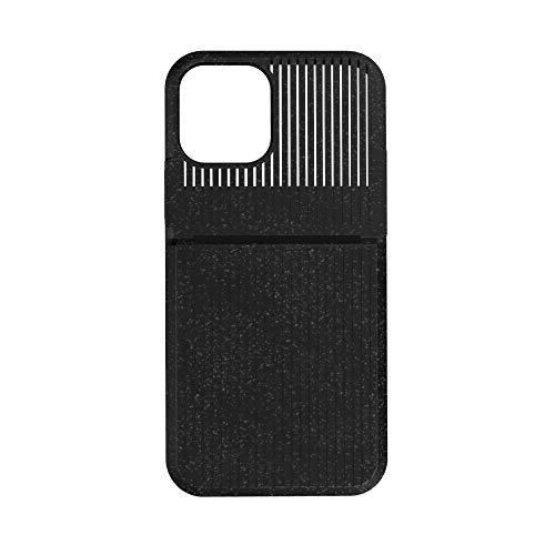 Simplism シンプリズム iPhone 12 / 12 Pro [スマ冷え] iPhoneを熱から守る熱吸収ケース ブラック TR-IP20M-FRC-BK