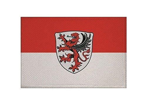 U24 Aufnäher Gießen Fahne Flagge Aufbügler Patch 9 x 6 cm