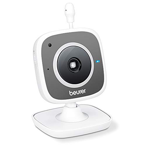 Beurer BY 88 Smart Wi-Fi Babycare camera, wit/grijs