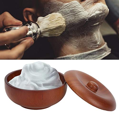 Shaving Bowl, Saving Space Smooth Surface Shaving Brush Bowl Easy To Operate for Barber Shop for Kids for Home for Men