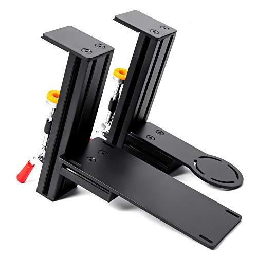 MEZA MOUNT - Tischhalterung kompatibel mit Thrustmaster Hotas Warthog Joystick und Drosselklappe mit allen Montageschrauben und Installationsanleitung (evtl. nicht in deutscher Sprache).