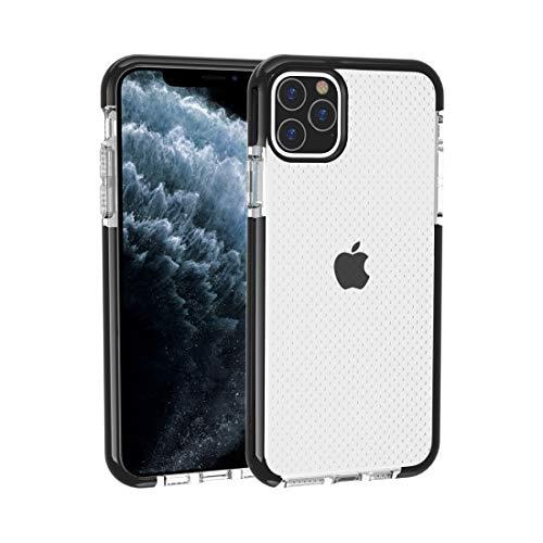 YGL Protección del teléfono La Caja del teléfono para el iPhone 11 Pro MAX Baloncesto Textura anticolisión Caja Protectora de TPU (Negro) (Color : Blue)