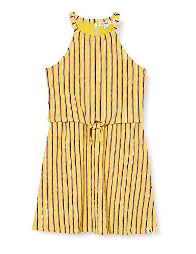 Garcia Kids meisjes O02482_1681_152 (152/158) jurk, meerkleurig (Yellow Dust 2570), fabrieksmaat