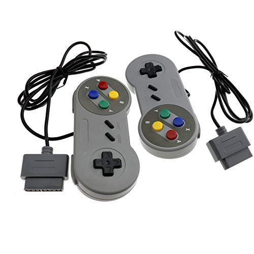 1/2-pcs Controller Steckverbinder Gamepad Joypad für Super Nintendo SNES Set