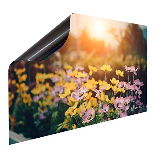 Bedruckte Magnetpinnwand Eisenfolie Whiteboard Magnetwand Motiv 20 Spring, Breite Bild:140 cm, Höhe Bild:40 cm