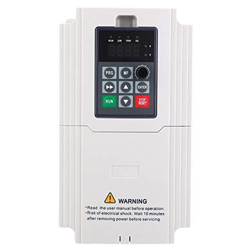 3-Phasen-Frequenzumrichter VFD-Frequenzumrichter mit Frequenzumrichter 1,5 kW bis 7,5 kW, 380 V Eingang und Ausgang zur Steuerung der Motordrehzahl(3.7KW)