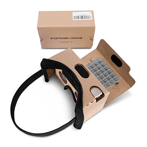 Google Cardboard 3D DIY VR Headset for 3D Movies and Games.