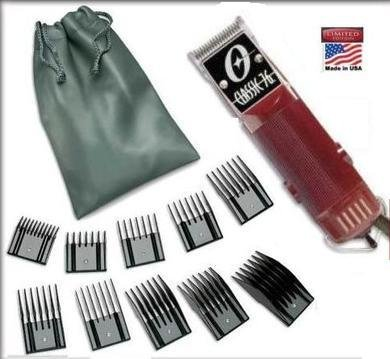 New Oster Classic 76 Limited Edition Hair clipper & 10 piece universal oster comb set
