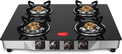 Pigeon Ultra Glass Stainless Steel Gas Stove (4...