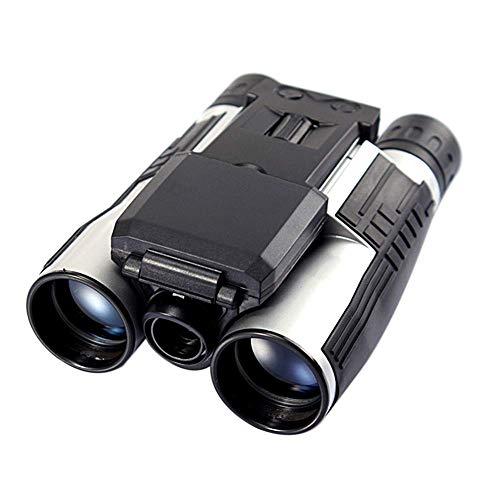 LNHJZ Cámara telescópica Binocular Digital con Zoom 12X32 Sensor CMOS de 5MP 2.0 '' TFT Full HD 1080P DVR Grabación de Video fotográfico Binoculares USB