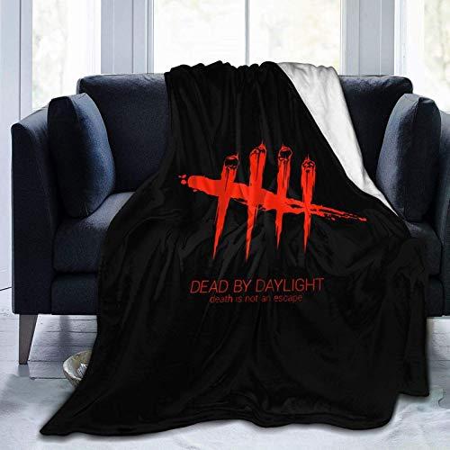 Dead by Daylight - Manta súper suave, ligera, acogedora, cálida, esponjosa, para cama, sofá, sala de estar, 152 x 122 cm