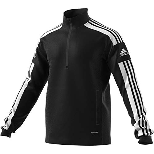 adidas GK9562 SQ21 TR TOP Pullover mens black/white M
