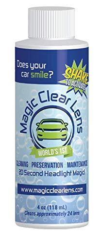 Magic Clear Lens MCL04 Headlight Restoration 1-Step Headlight Cleaner, 4 FL OZ