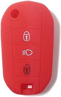 Custodia silicone NERO guscio protettivo telecomando auto car FORD Kuga FO1