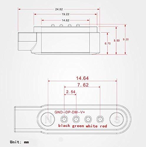 Zeerkeer Cable de carga rápida USB Fuerte alimentación magnética Cable