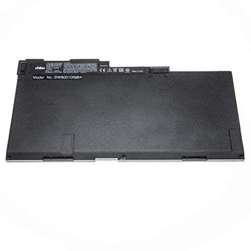vhbw Batterie Compatible avec HP EliteBook 850 G1, 850, 840 G2, 840 G1, 845 G2, 740 G1, 740 G2, 745 G1 Laptop (4500mAh, 11,1V, Li-Polymère, Noir)