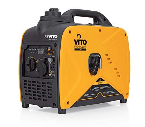 Vito Professional 5 KVA 9 PS Silent Silent Generador de corriente diésel silencioso 4500 W 230 V 72 db LWA Aislamiento de corriente de emergencia E-Starter