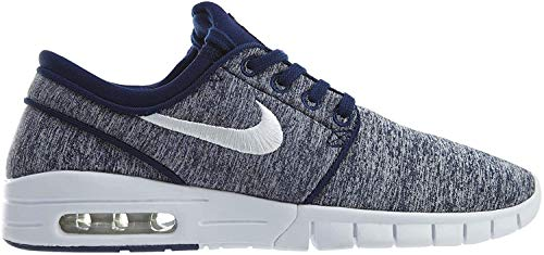 Nike Herren Stefan Janoski Max Turnschuhe Blau (Blue Void/White 405) 38.5 EU