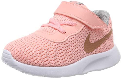 Nike Mädchen Tanjun (TD) Gymnastikschuhe, Pink (Pink Tint/MTLC Rose Gold/Atmosphere Grey 607), 25 EU