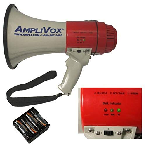AmpliVox S601 Mity-Meg 15 Watt Megaphone