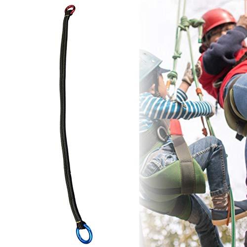 SALUTUYA Cordón de árbol Anti-caída Alta Resistencia Durable Cinturón de Eslinga portátil Arnés de Escalada Cordón de cinturón para protección contra caídas, Arbolista, Trepadores de árboles