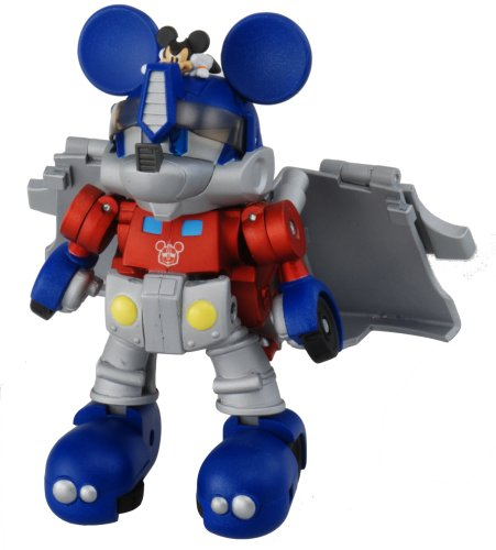 Transformers Takara Disney Mickey Mouse Transformer (Color Version) by Takara Tomy