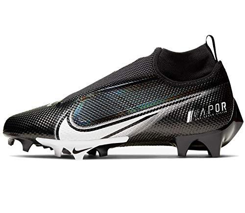 Nike Vapor Edge Pro 360 Mens Football Cleat Ao8277-001 Size 12.5 Black/White