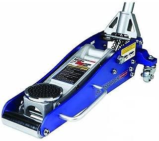 3000 Lb Aluminum Racing Floor Jack 1.5 Ton Low Profile Sports Car Compact Blue