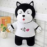 JKONG Husky Doll Cute Soft Toy Almohada para Perro Doll 70cm Boo