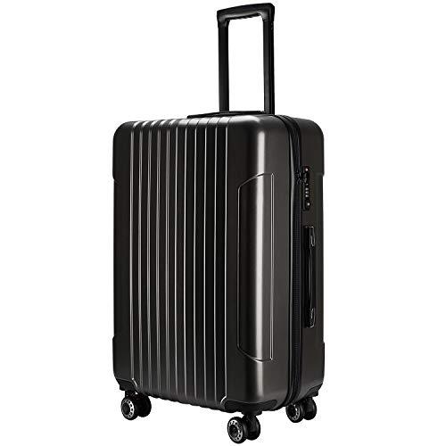 (TTOバリジェリア)TTOvaligeria スーツケース S型機内持ち込み 軽量 TSAロック付 静音 大型(S,ダークグレー)